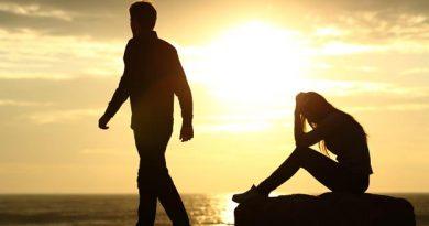 La séparation d'amour entre souffrance et libération